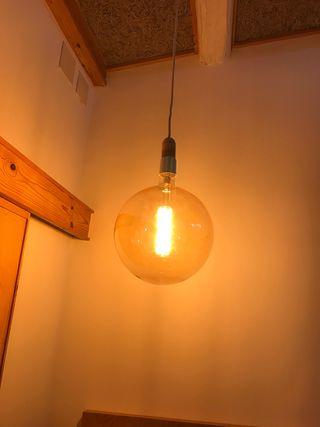 Bombilla lampara decorativa