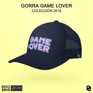 Gorra azul de curva GAME LOVER