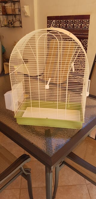 jaulas para loros, periquitos o canarios