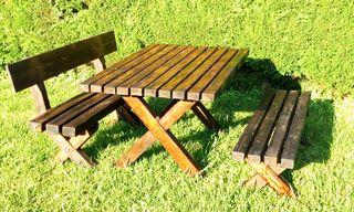 mesa robusta de jardin