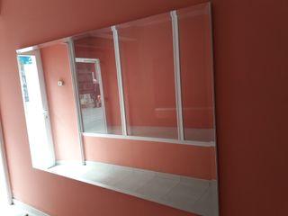 espejo biselado, de 210x130