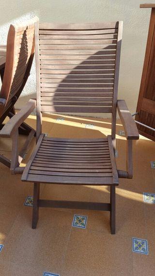 8 sillas de Teka