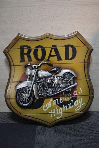 Cuadro de moto estilo americano