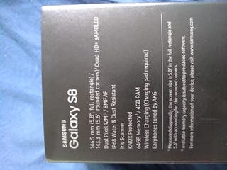 Samsung Galaxy s8 64gb libre
