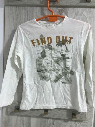 camiseta manga larga niño 9-10 años marca lefties