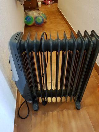 radiador de aceite de 11 elementos 2400 w. aeg