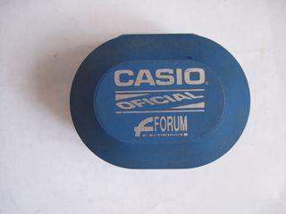 funda rígida antigua reloj casio color azul forum