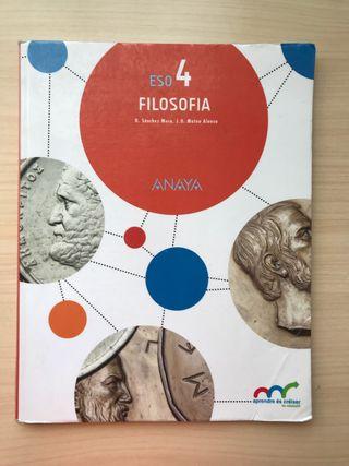 Libro Filosofia 4 ESO