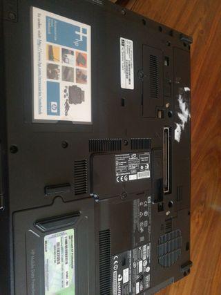 Portátil hp nc6400
