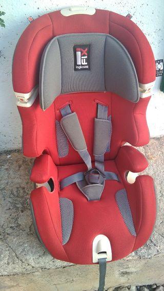 Silla de coche para bebé grupos 1-2-3 con isofix