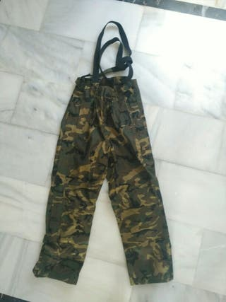 Pantalon Impermeable Esqui Camuflaje