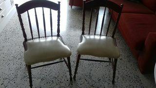 sillas coloniales