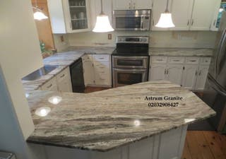 Get Arabescato Orobico Marble Worktop for Home