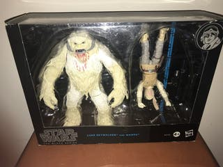 Star Wars Black Series Luke Skywalker and Wampa