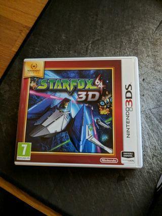 Starfox 64 3D para Nintendo 3DS