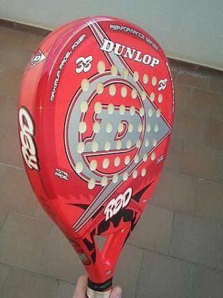 Raqueta de padel Dunlop red