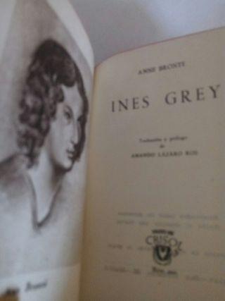 Crisol, Ines Grey, Anne Bronte