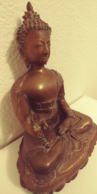 Figura Buda grande bronze