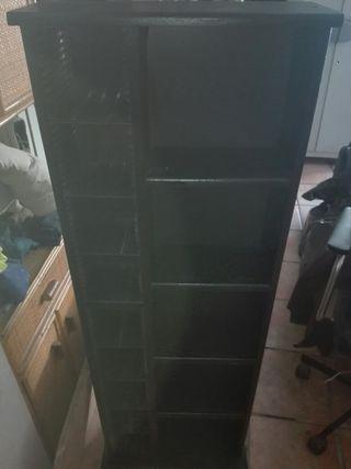 Mueble de DVD , CD Y libros