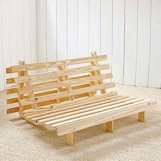 Estructura de futón sofá-cama 135 cm