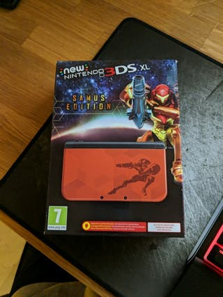 Consola New Nintendo 3DS XL edición Samus NUEVA