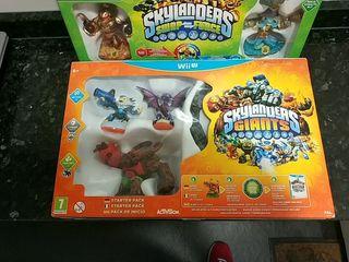 Skylanders Giants Wii U nuevo sin abrir