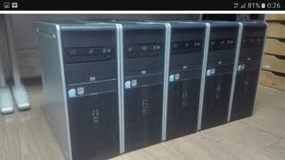 5 pc quad core Hp Compaq dc7900 completos