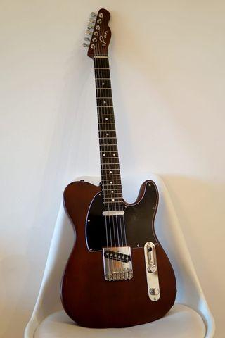Guitarra electrica telecaster luthier fender de segunda for Luthier guitarra electrica