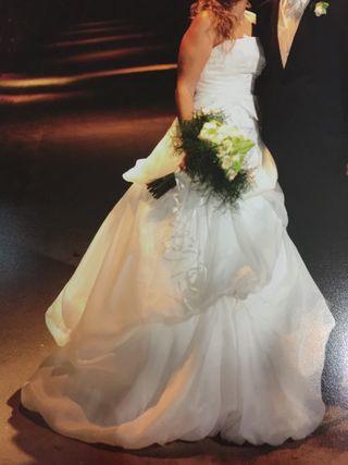vestido de novia talla 42 de segunda mano en santa cruz de tenerife