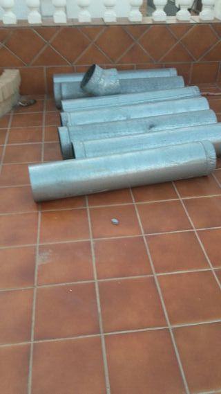 tubos de chimenea garvanizado