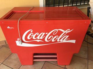 Nevera Coca- cola, vintage.