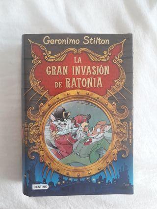 libros infantil geronimo stilton