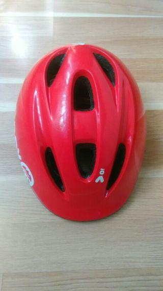 Casco bici niños 300 rojo B'TWIN.