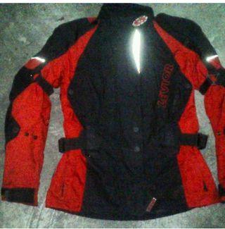 chaqueta de moto señora