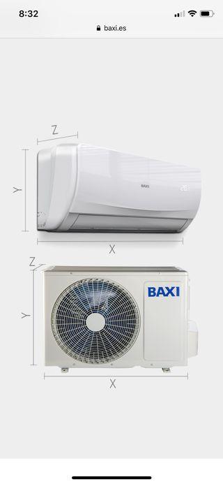 Aire acondicionado Baxi roca