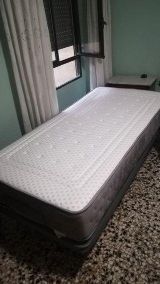 Somier articulado + colchón ergolatex 90×190