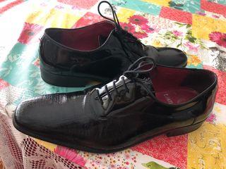 Zapatos italianos de novio