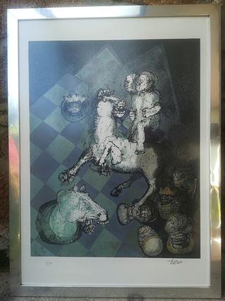 Litografía de CAMILO OTERO
