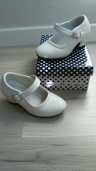Zapatos de gitana/flamenca tacón N°25
