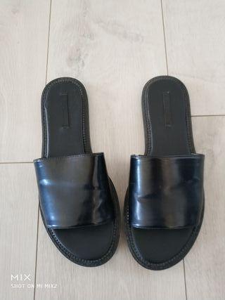 sandalia pala mujer