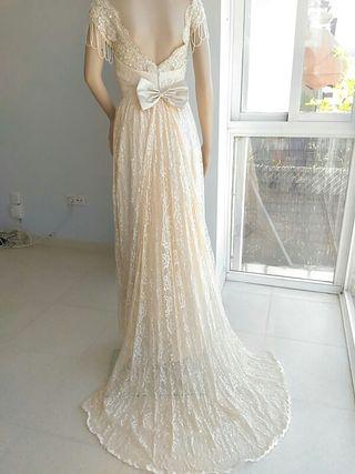 vestido de novia vintage de segunda mano en granada en wallapop