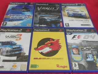 lote juegos play PlayStation 2
