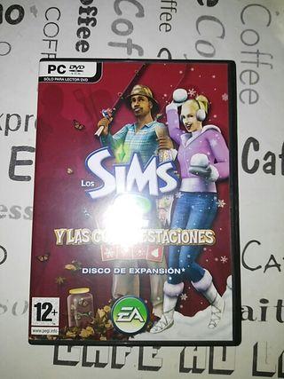 Los Sims 2 y las cuatro estaciones.