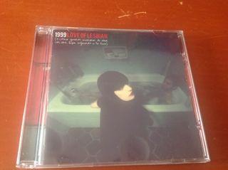 """CD Love of lesbian """"1999"""""""
