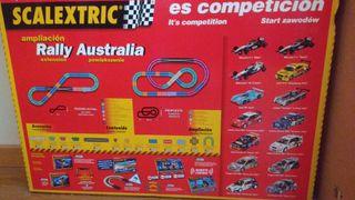Scalextric Rally Australia + 2 coches