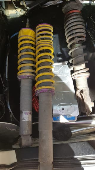 Suspensión roscada Golf MK3