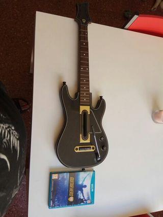 vendo guitarra Hero libre de Wii U