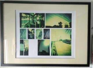 Cuadro de fotos con Marco+Passepartout (original)