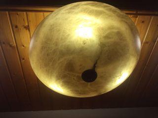 Lámpara cristal de murano