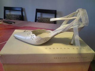 Zapatos de novia sara navarro